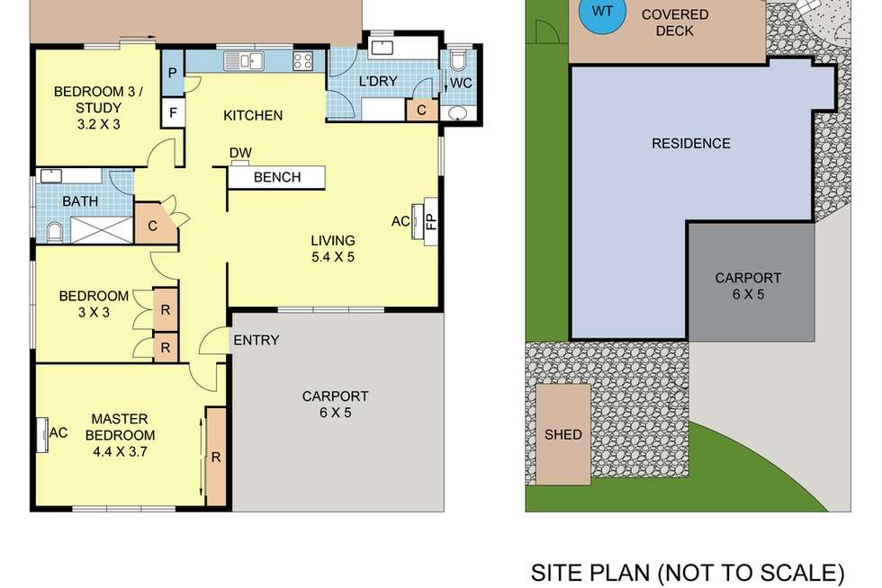 Floorplan of Homely house listing, 92 Victoria Road, Lilydale VIC 3140