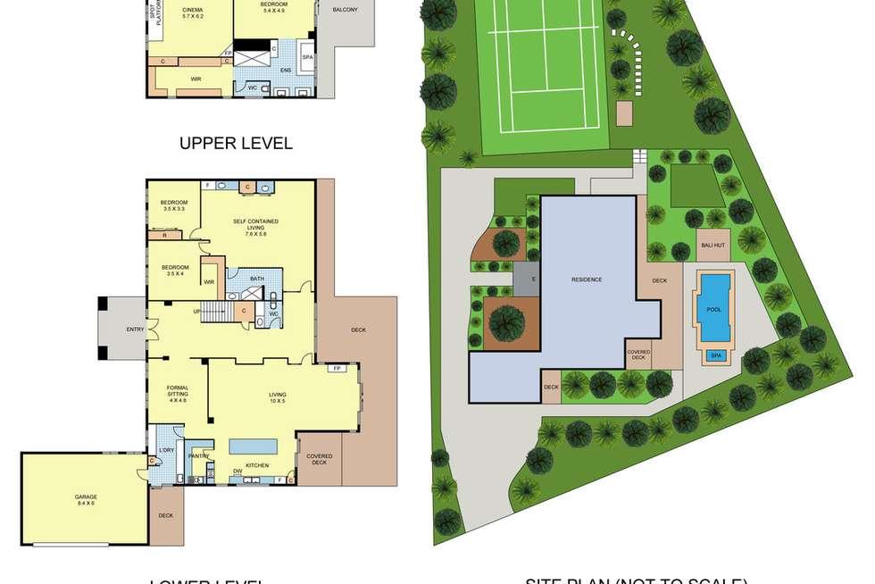 Floorplan of Homely house listing, 4 Doonside Drive, Lilydale VIC 3140
