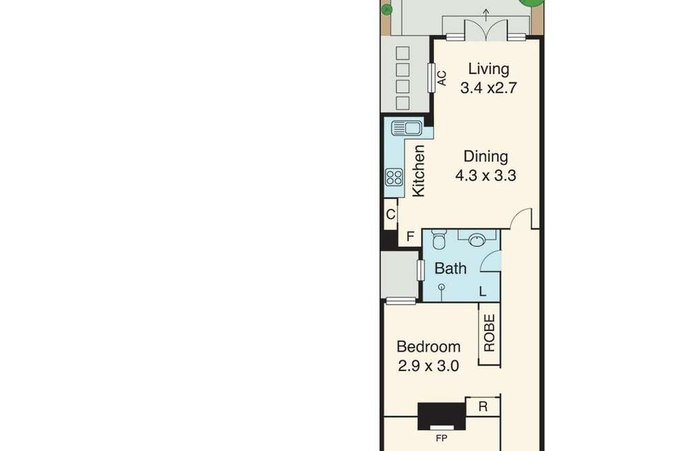 Floorplan of Homely house listing, 26 Lothian Street, North Melbourne VIC 3051