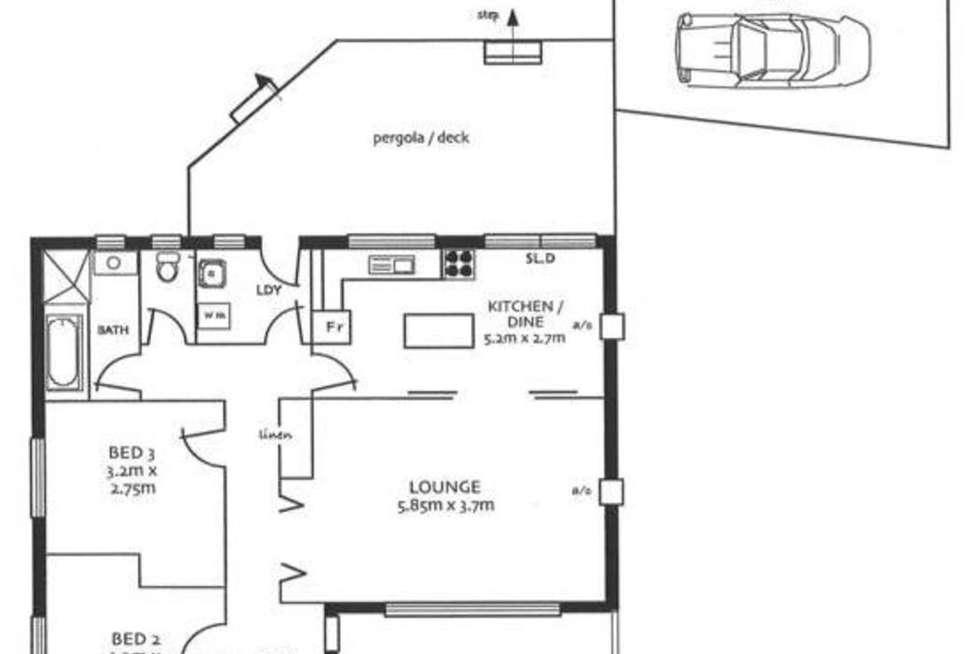 Floorplan of Homely house listing, 12 Billabong Road, Para Hills SA 5096