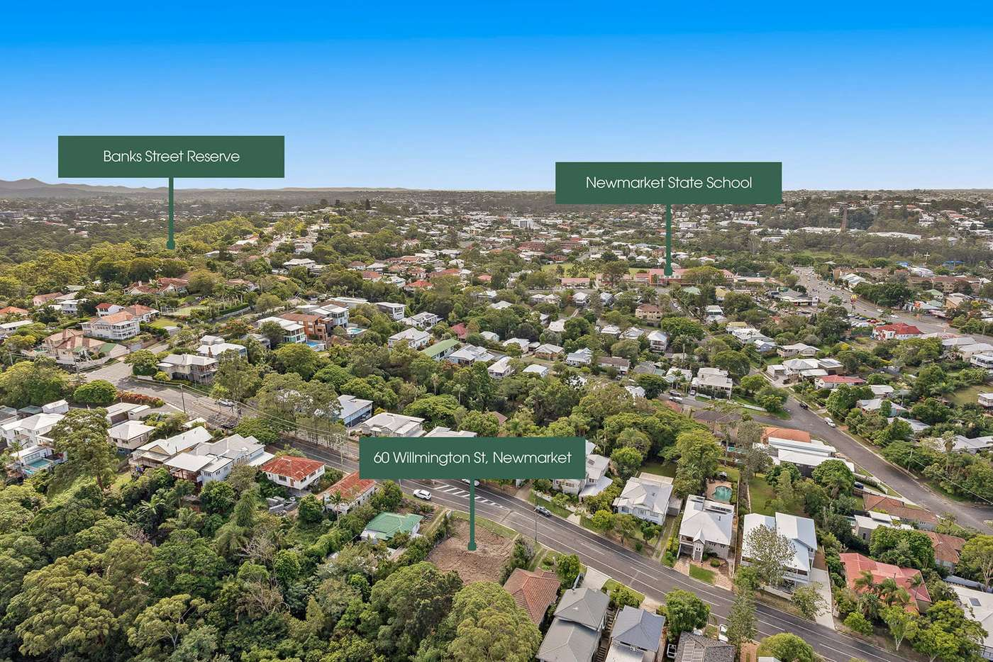 Sixth view of Homely residentialLand listing, 58 Willmington Street, Newmarket QLD 4051