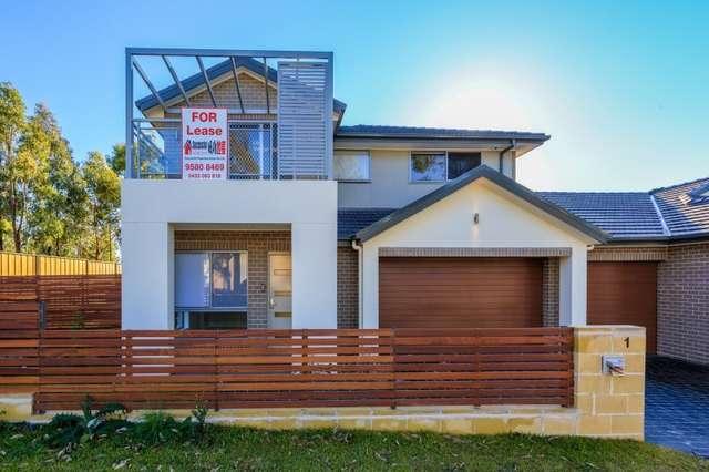 1 Fyfe Road, Kellyville Ridge NSW 2155