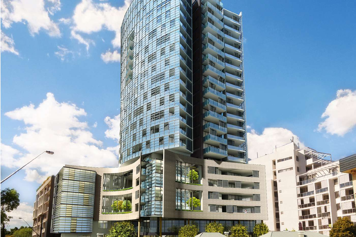 Main view of Homely apartment listing, Level 15/1502/23 Hassall Street, Parramatta NSW 2150