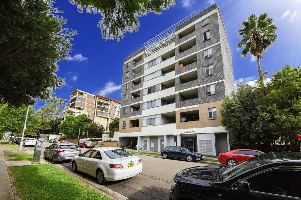 Fifth view of Homely apartment listing, 3 Campbell Street, Parramatta NSW 2150