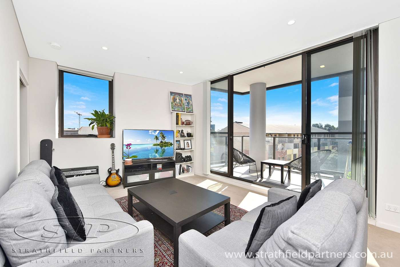 Main view of Homely apartment listing, 504/5 Powell Street, Homebush, NSW 2140
