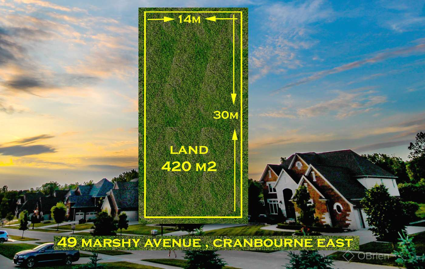 Main view of Homely  listing, 49 Marshy Avenue, Cranbourne East, VIC 3977