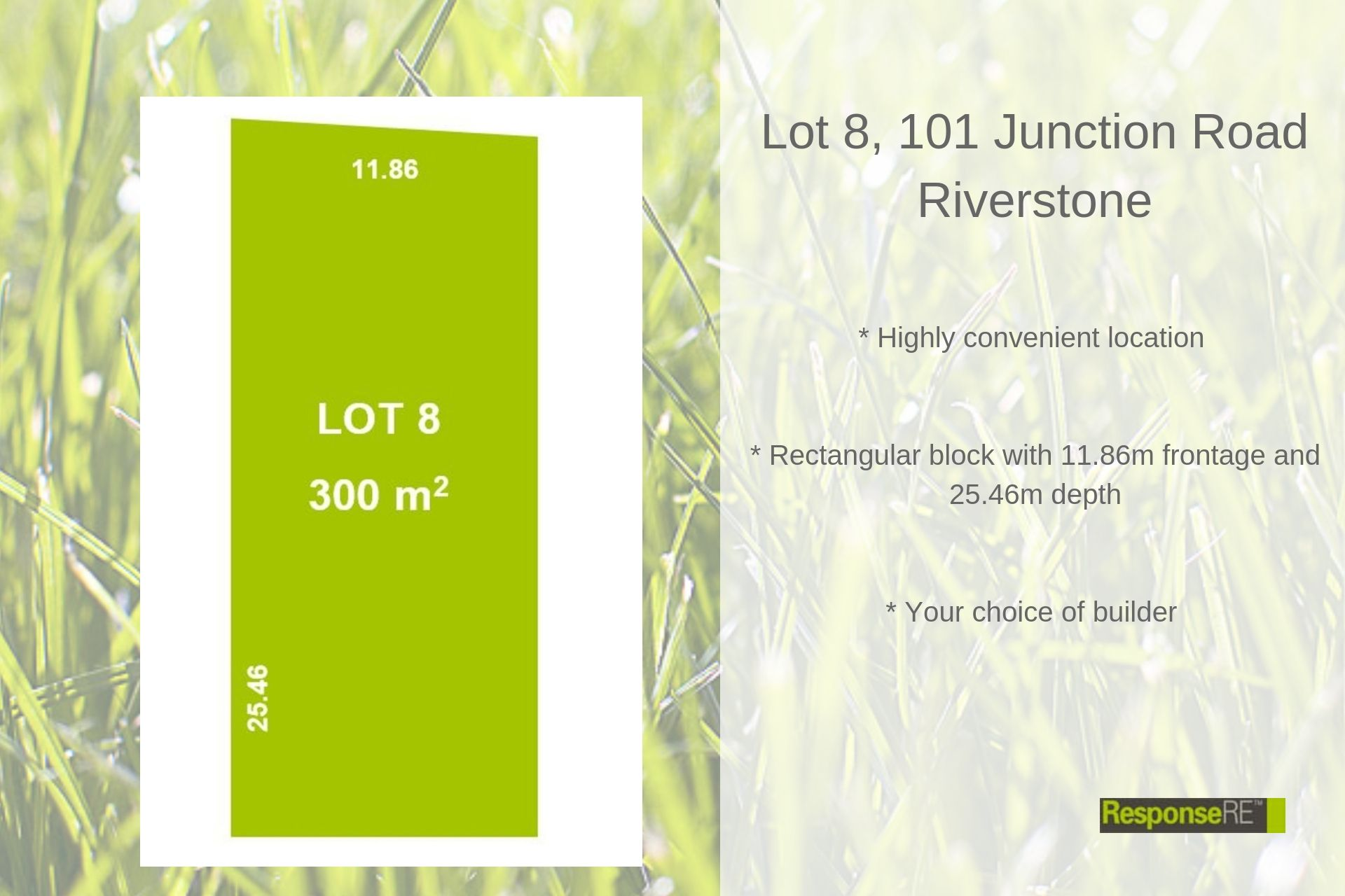 LOT 8/101 Junction Road
