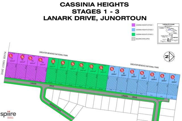 LOT 1-17 Cassinia (formerly Lanark) Drive, Junortoun VIC 3551