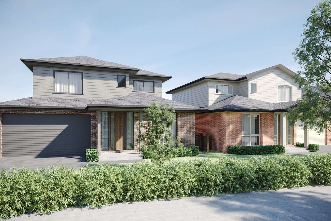 Main view of Homely house listing, 29A & 29B Tiverton Drive, Mulgrave VIC 3170