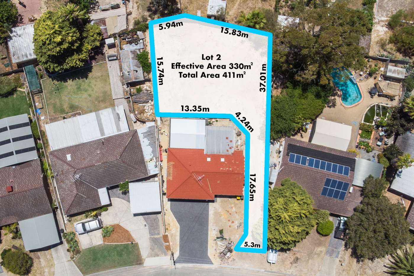 Main view of Homely residentialLand listing, LOT 2/30A Fenellia Crescent, Craigie WA 6025