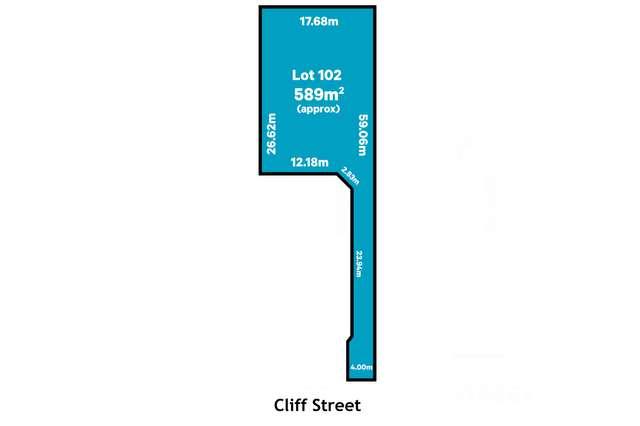 LOT 102/12a Cliff Street, Glenelg East SA 5045