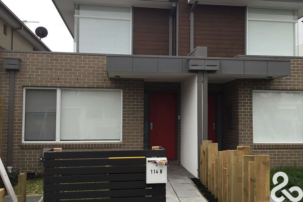 Second view of Homely townhouse listing, 114B Beaconsfield Parade, Northcote VIC 3070