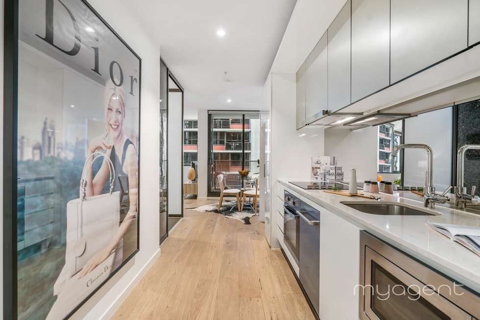 Second view of Homely apartment listing, 1804/33 Rose Lane, Melbourne VIC 3000