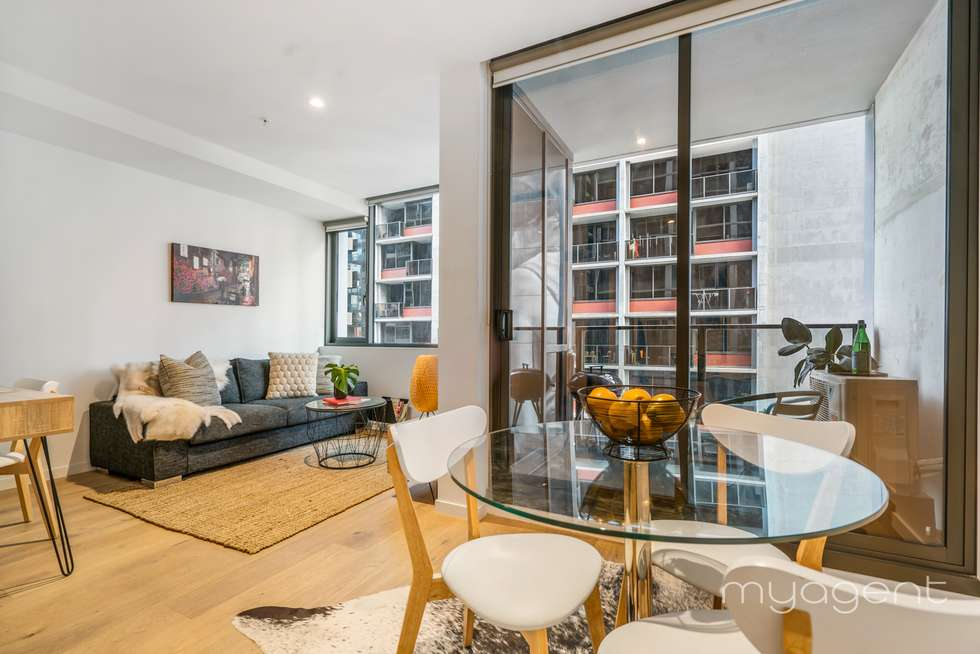 Third view of Homely apartment listing, 1804/33 Rose Lane, Melbourne VIC 3000