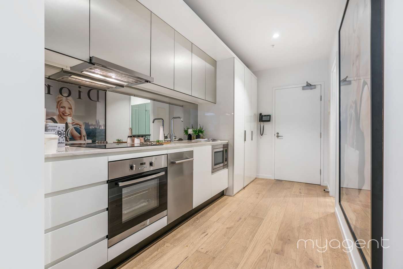 Fifth view of Homely apartment listing, 1804/33 Rose Lane, Melbourne VIC 3000