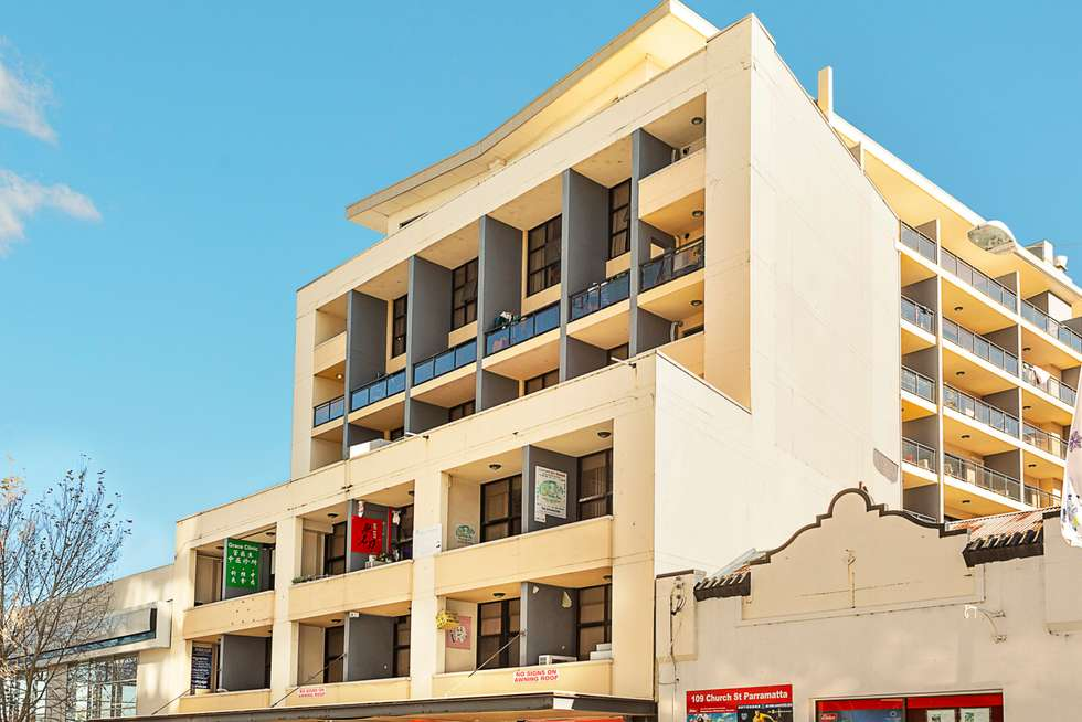 Second view of Homely apartment listing, 10/105 Church Street, Parramatta NSW 2150