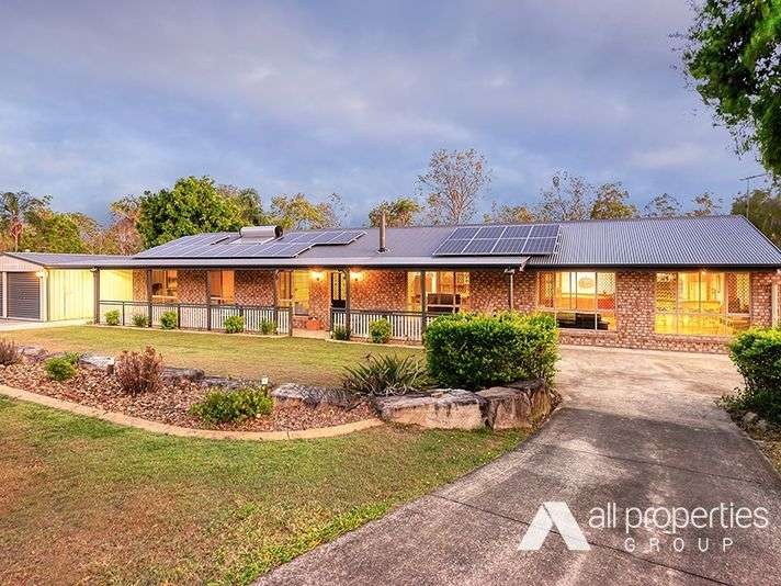 Main view of Homely house listing, 182 Merluna Road, Park Ridge South, QLD 4125