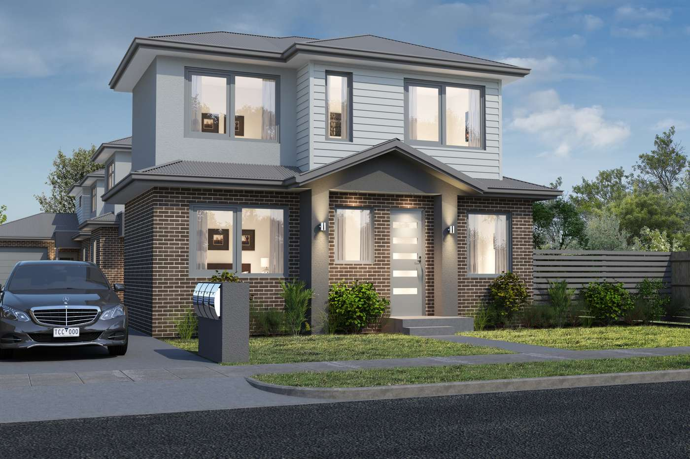 Main view of Homely townhouse listing, 1-4/18 Jessie Street, Oak Park, VIC 3046