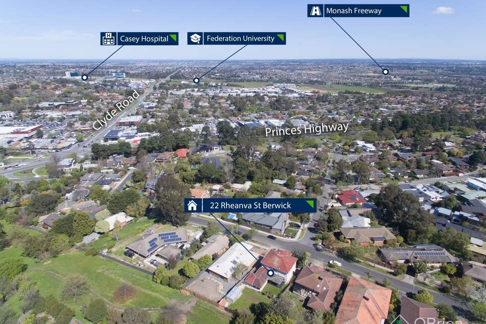 Second view of Homely house listing, 22 Rheanva Street, Berwick VIC 3806
