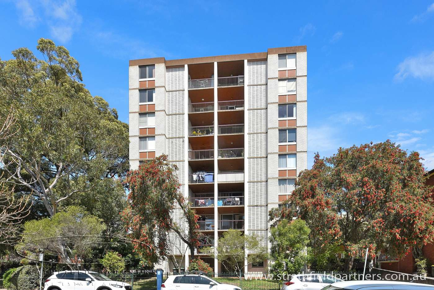 Main view of Homely unit listing, 8/12-16 Belmore Street, Burwood, NSW 2134