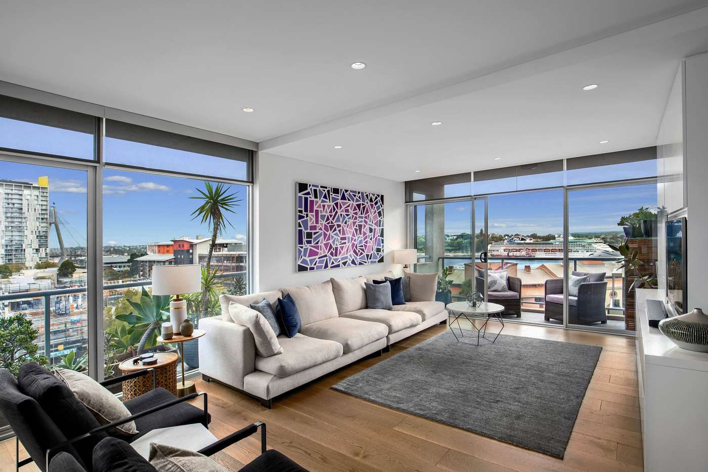Main view of Homely apartment listing, 701/135 Point Street, Pyrmont, NSW 2009