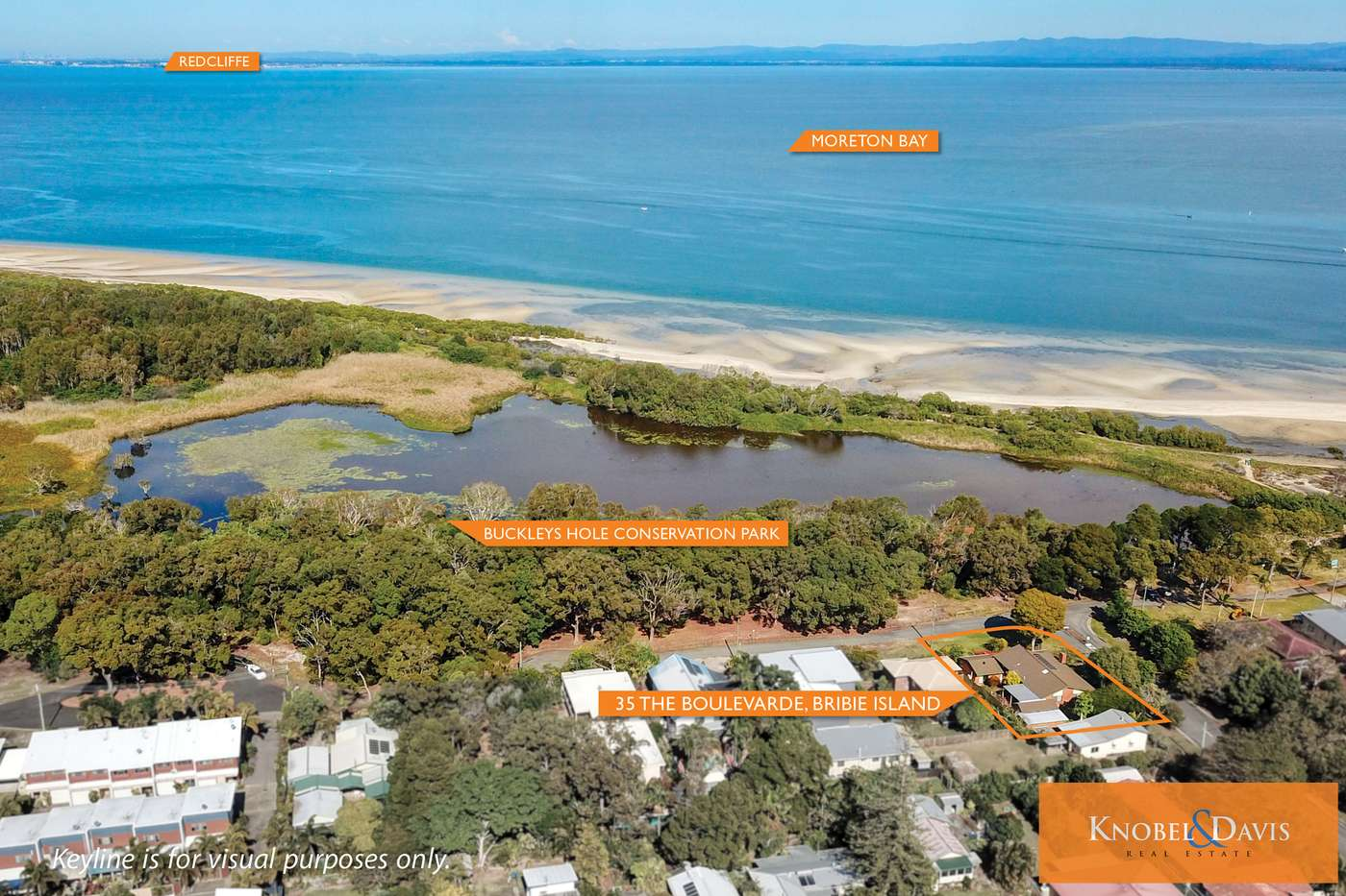Main view of Homely house listing, 35 The Boulevard, Bongaree, QLD 4507