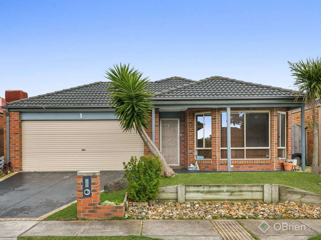 Main view of Homely house listing, 1 Olivia Court, Carrum Downs, VIC 3201