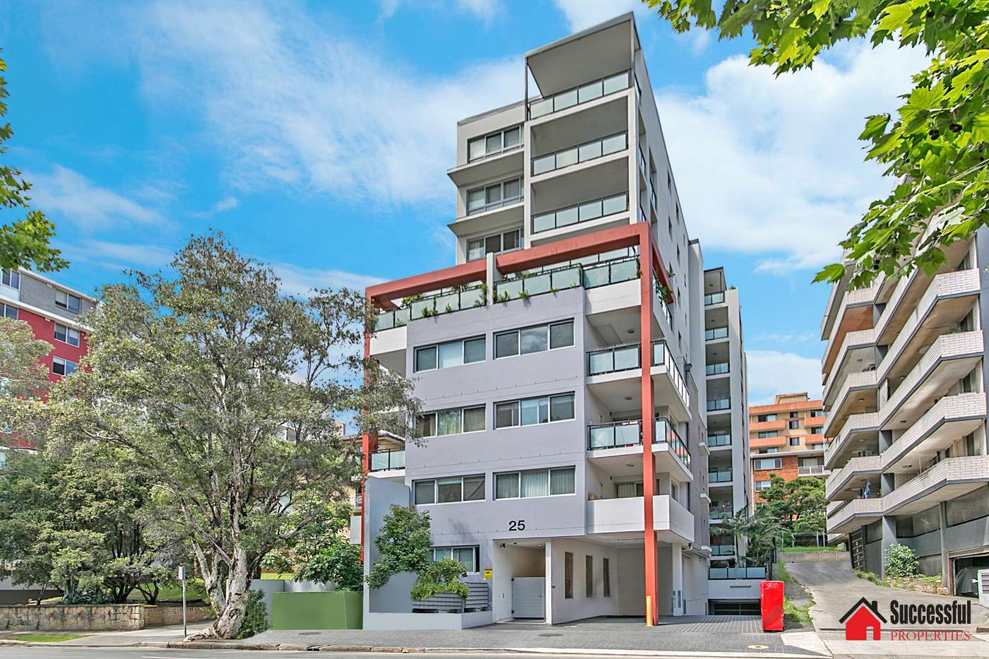 Main view of Homely apartment listing, 402/25 Campbell Street, Parramatta, NSW 2150