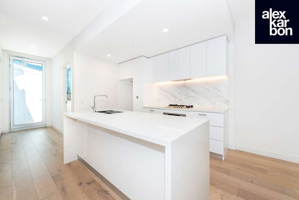 Second view of Homely apartment listing, 322/111 Canning Street, North Melbourne VIC 3051