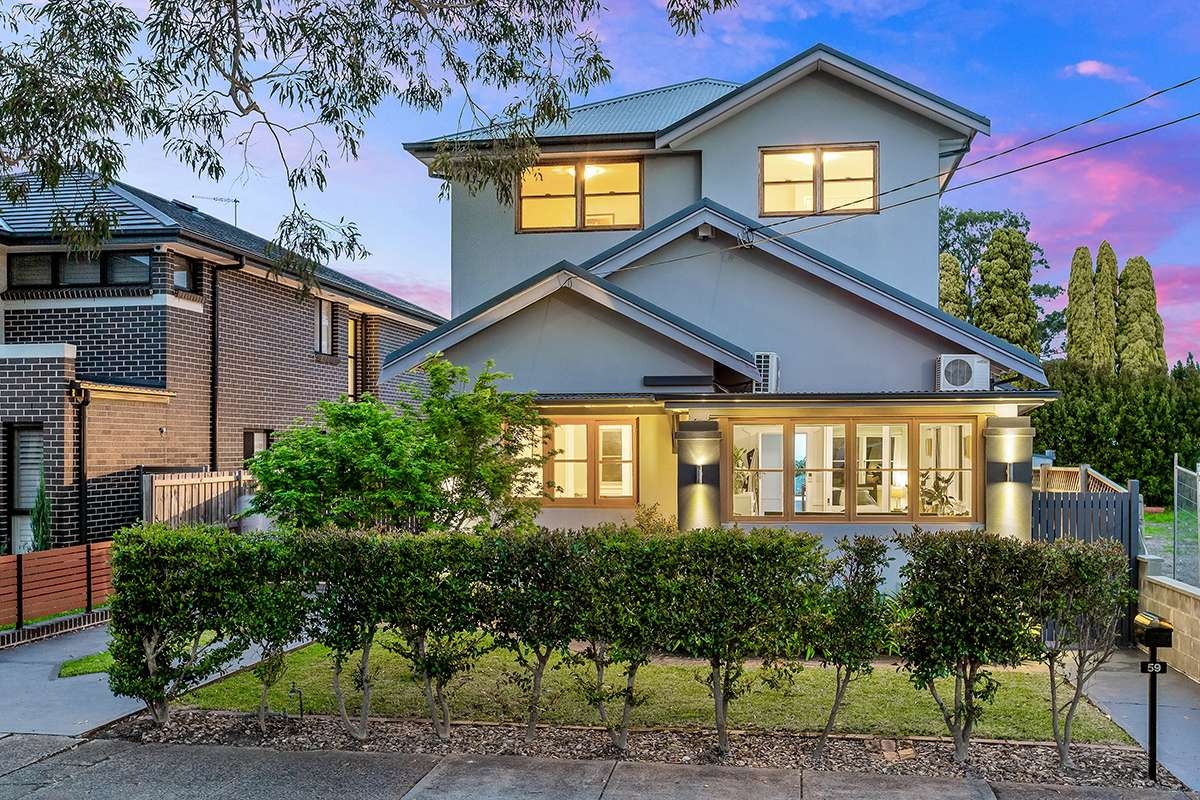 Main view of Homely house listing, 59 Linthorn Avenue, Croydon Park, NSW 2133