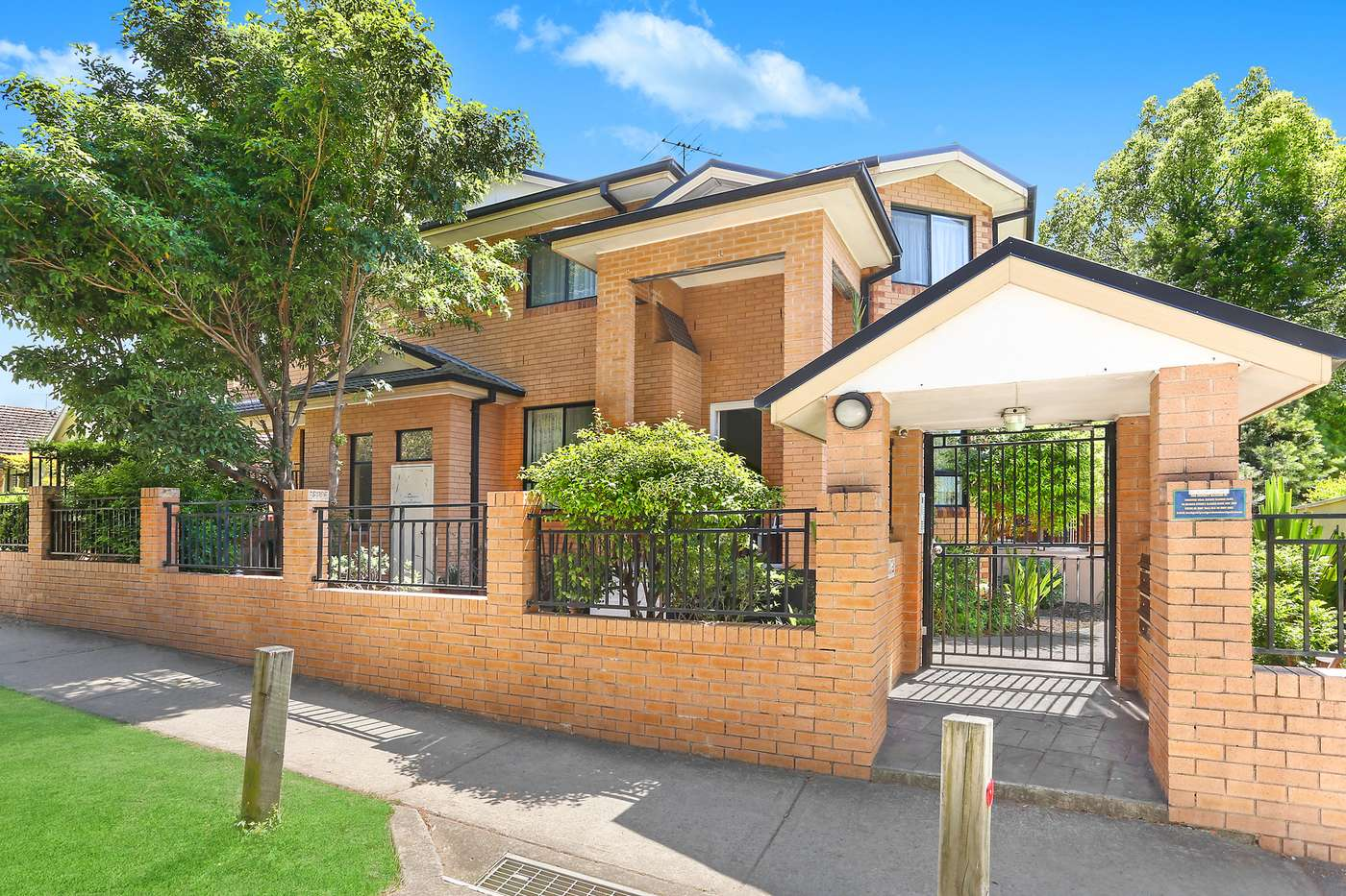 Main view of Homely townhouse listing, 1/31-32 Loftus Crescent, Homebush, NSW 2140