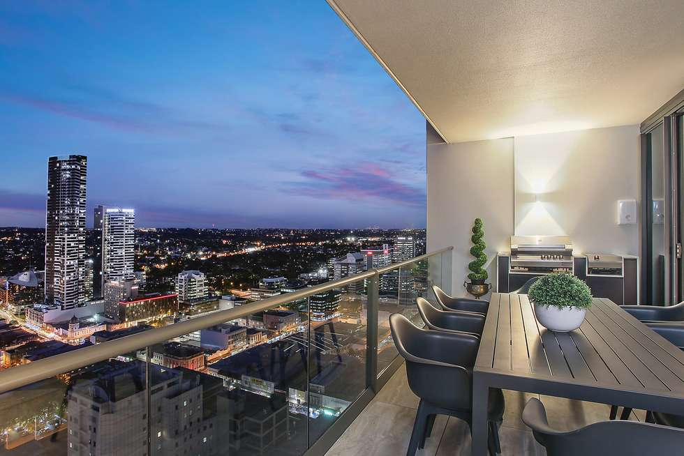 Second view of Homely apartment listing, 2805/45 Macquarie Street, Parramatta NSW 2150