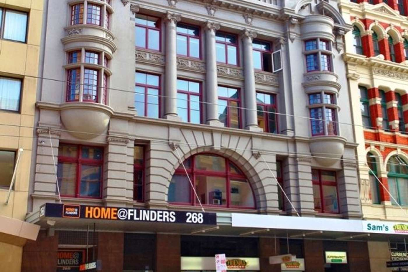 Main view of Homely studio listing, 1318/268 Flinders Street, Melbourne VIC 3000