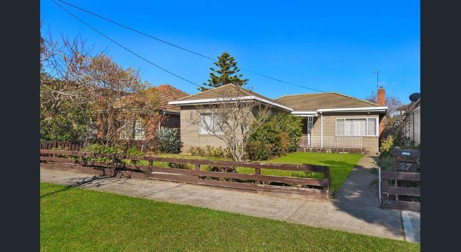 27 Westgate Street, Pascoe Vale South VIC 3044