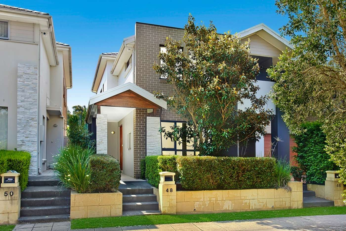 Main view of Homely semiDetached listing, 48 Bentwood Terrace, Stanhope Gardens NSW 2768