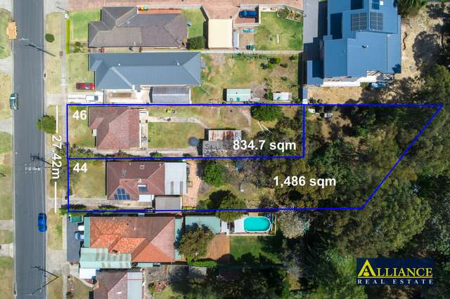 44 & 46 Lucas Road, East Hills NSW 2213