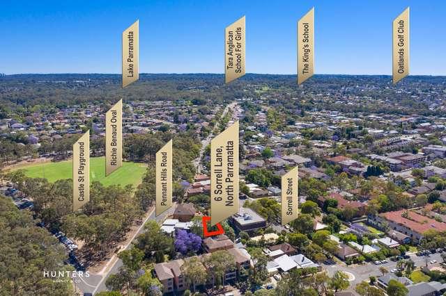 6 Sorrell Lane, North Parramatta NSW 2151