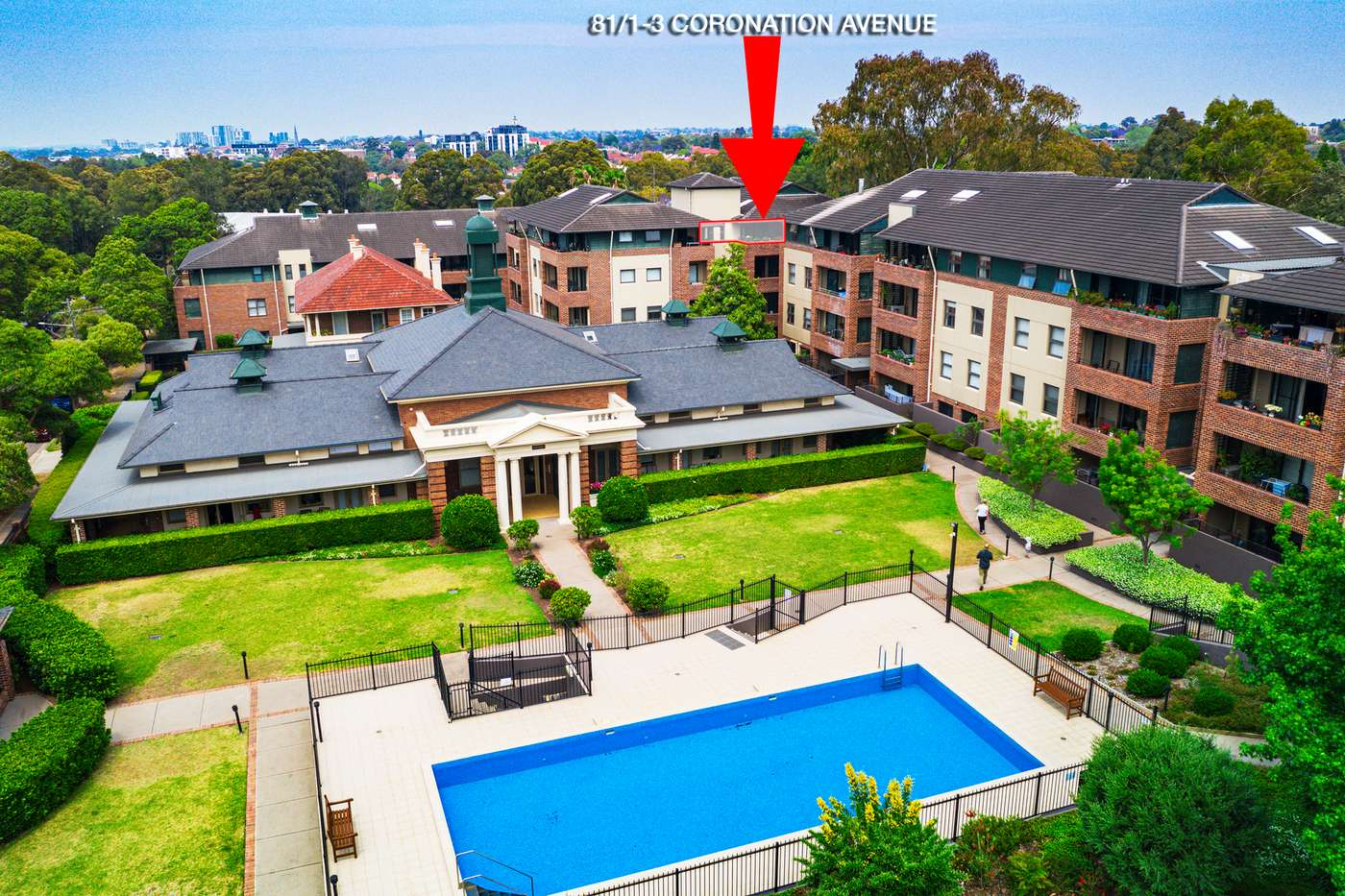 Main view of Homely apartment listing, 81/1-3 Coronation Avenue, Petersham, NSW 2049