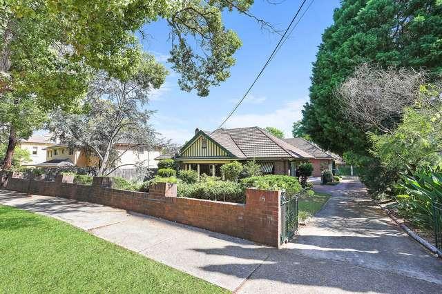 15 Jersey Road, Strathfield NSW 2135