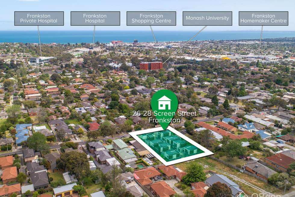 Second view of Homely townhouse listing, 2 or 3/26-28 Screen Street, Frankston VIC 3199