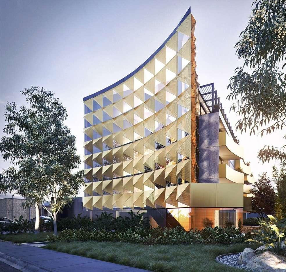 Main view of Homely apartment listing, 405/205-207 Ballarat Road, Footscray, VIC 3011