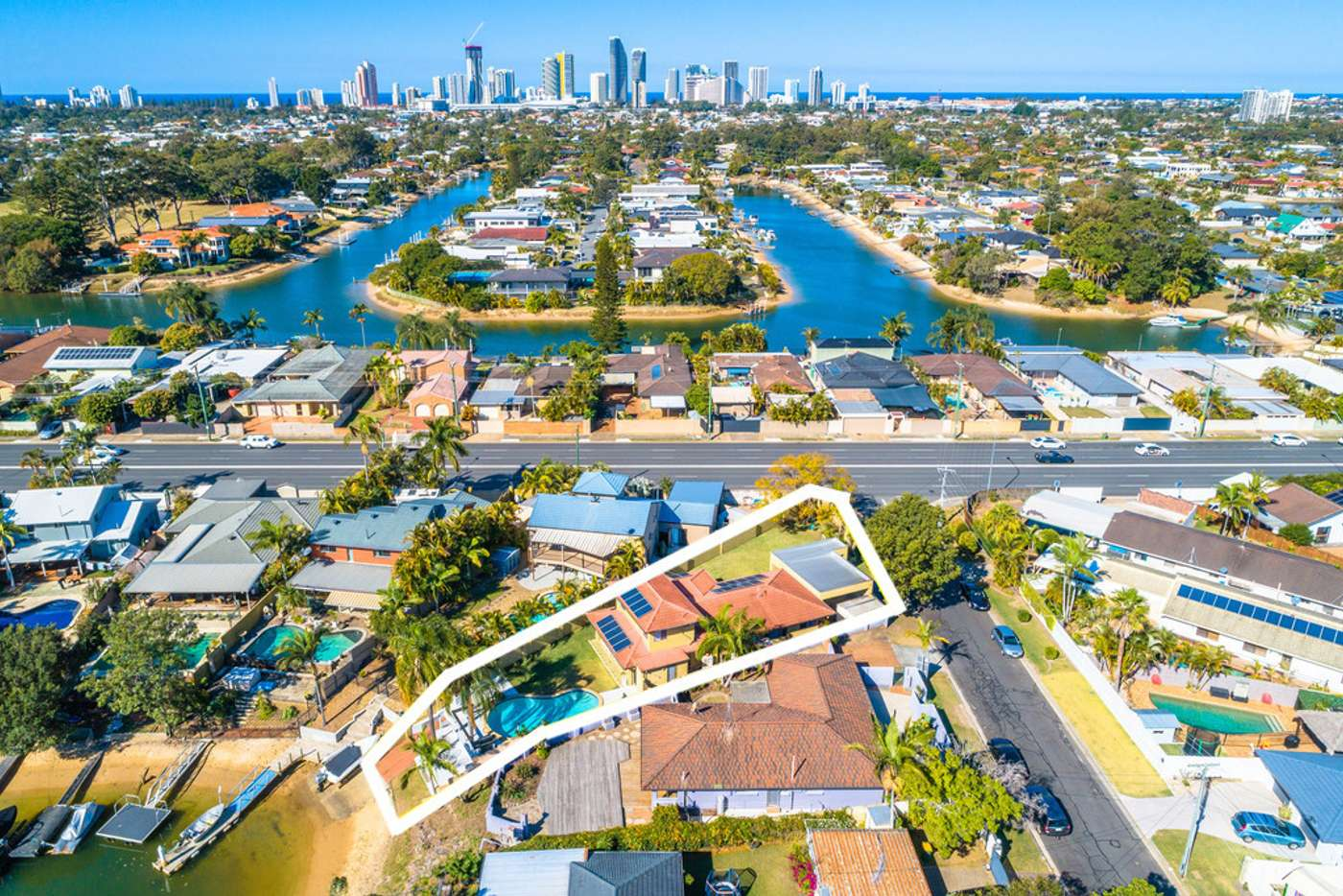 Fifth view of Homely house listing, 1 Sara Avenue, Broadbeach Waters QLD 4218