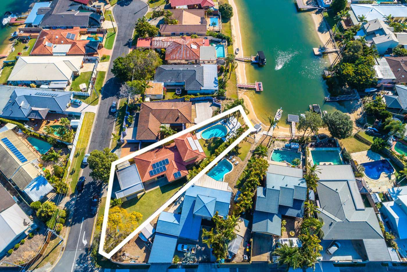 Sixth view of Homely house listing, 1 Sara Avenue, Broadbeach Waters QLD 4218