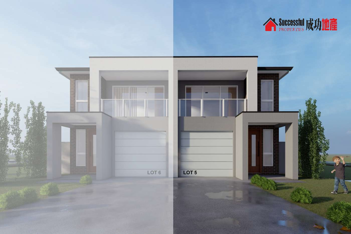 Main view of Homely semiDetached listing, Lot 5 Arilla Close, Schofields NSW 2762