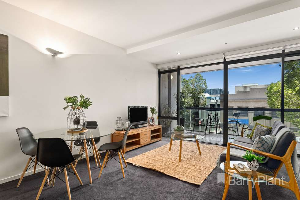 Second view of Homely apartment listing, 202/668 Swanston Street, Carlton VIC 3053