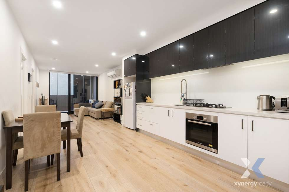 Second view of Homely apartment listing, 206/33-35 Breese Street, Brunswick VIC 3056
