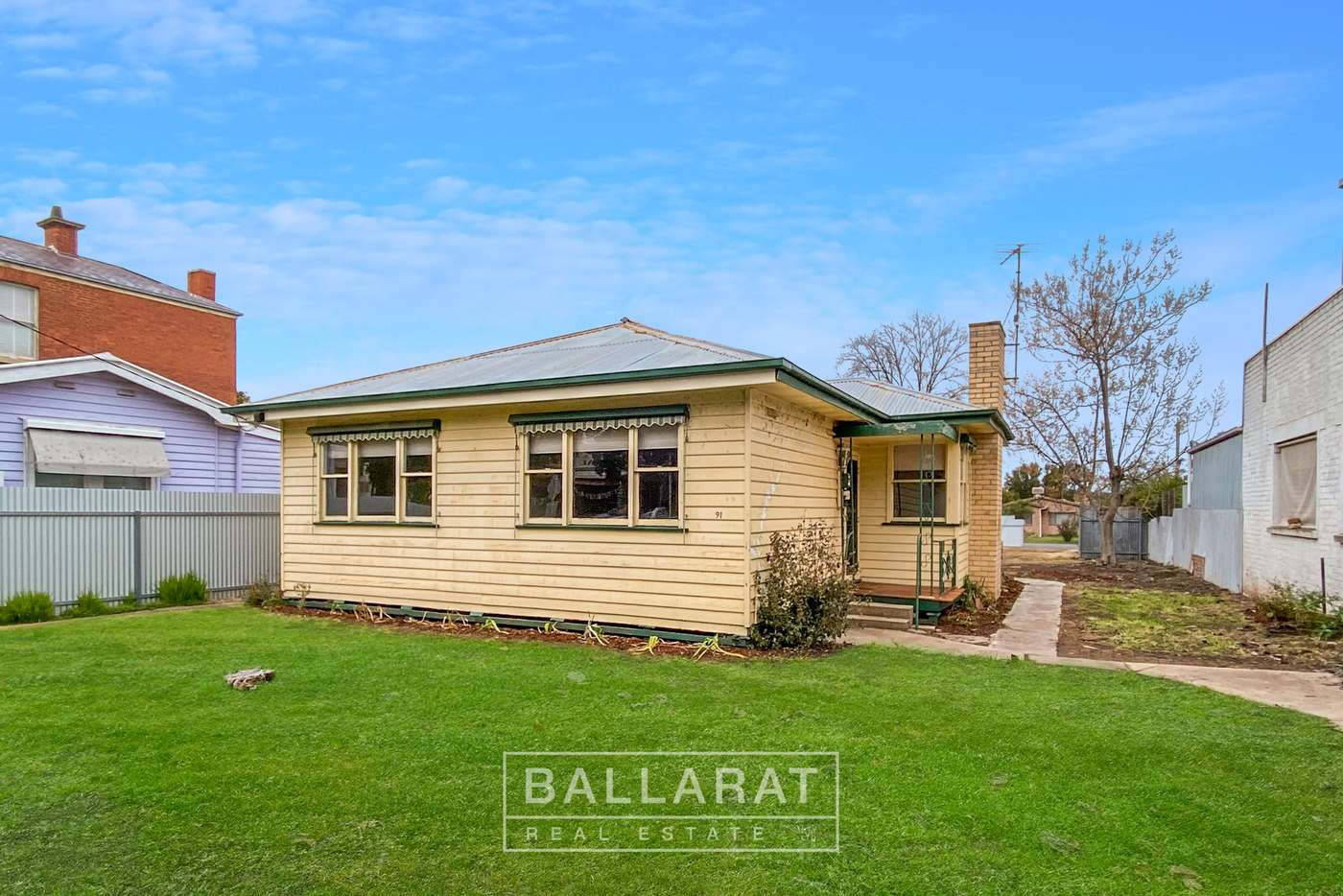 Main view of Homely house listing, 91 Broadway, Dunolly VIC 3472