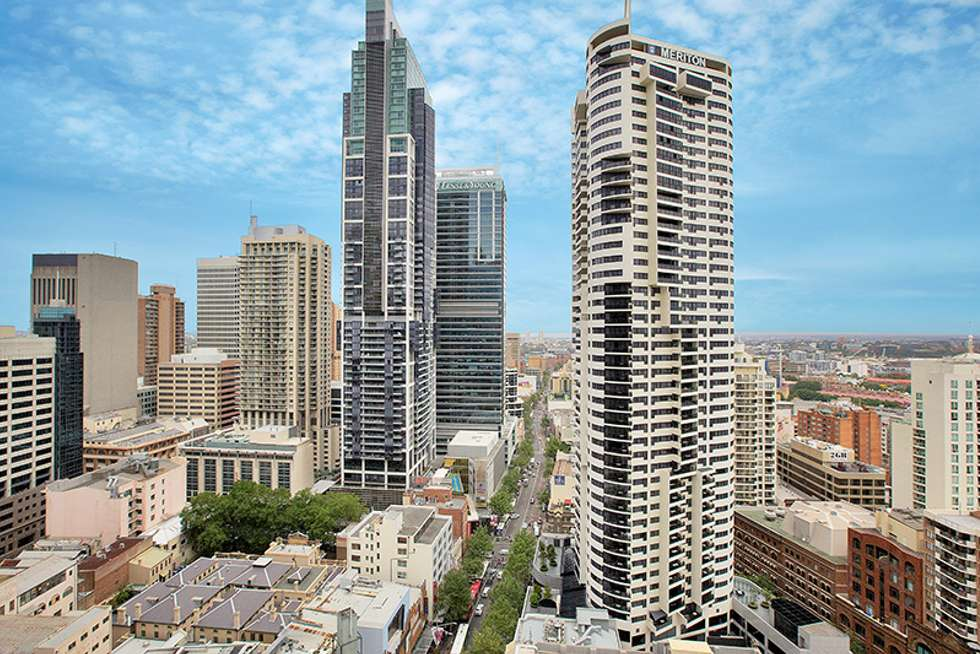 Third view of Homely apartment listing, 3308/101 Bathurst Street, Sydney NSW 2000