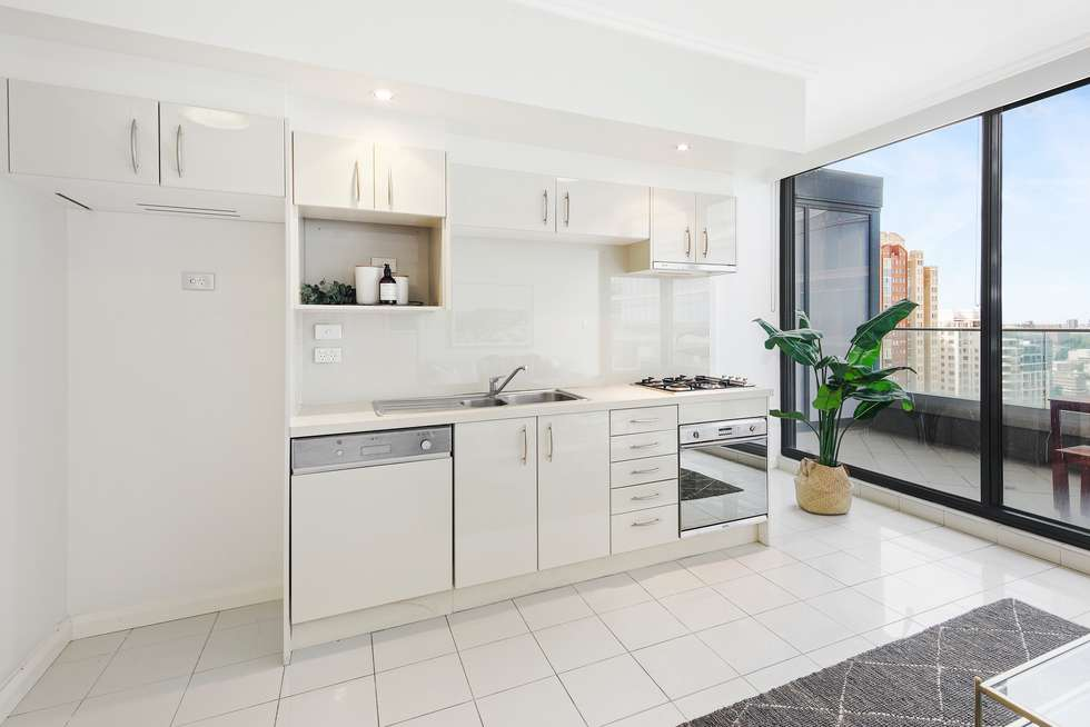 Third view of Homely apartment listing, 3603/91 Liverpool Street, Sydney NSW 2000
