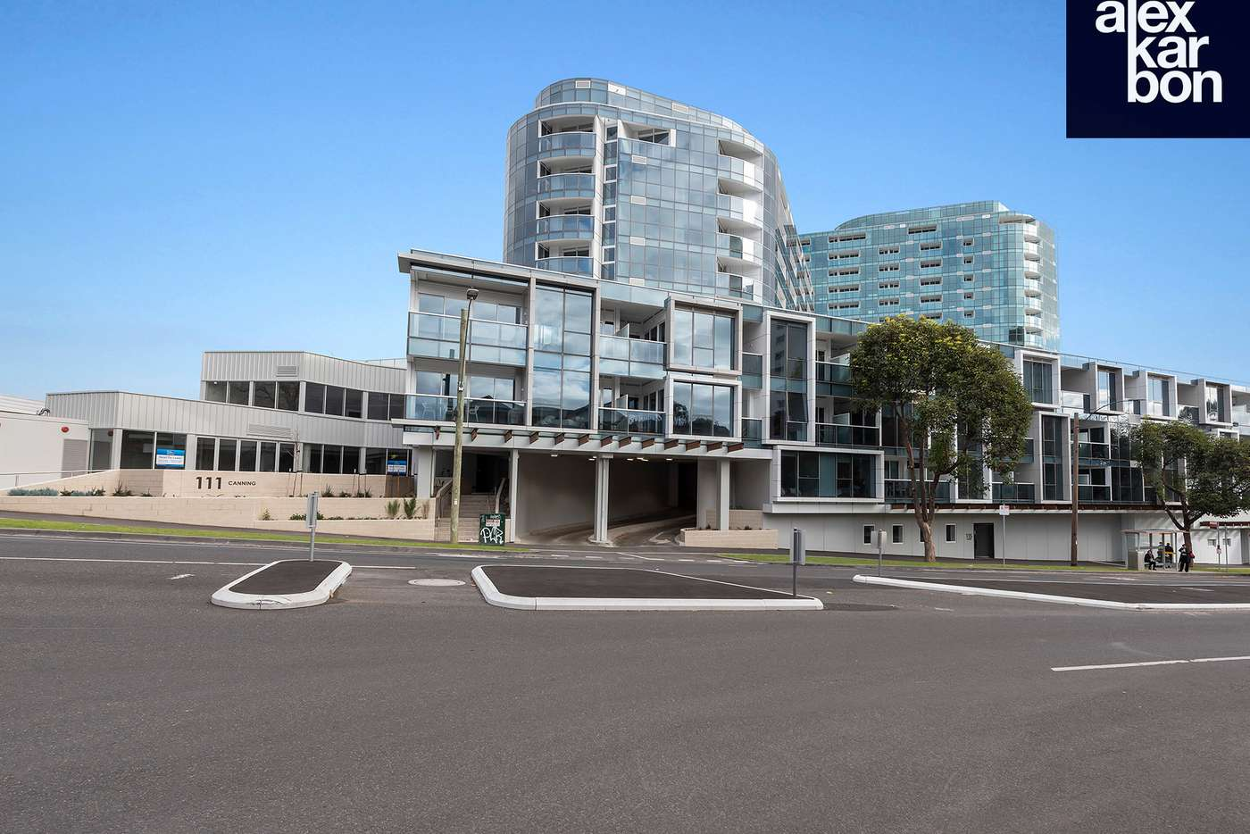 Main view of Homely apartment listing, 206/111 Canning Street, North Melbourne VIC 3051
